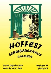 Plakat Hoffest 2019